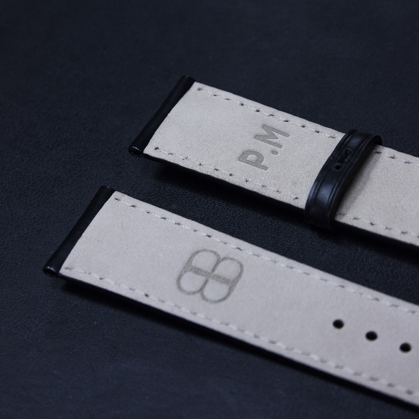 Bracelet Beaubleu en cuir personnalisé