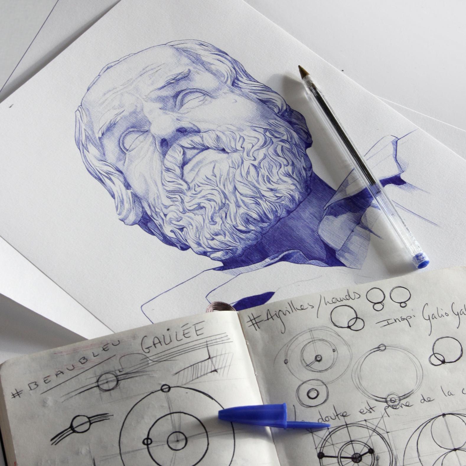 Galileo, inspirations pour le travail des aiguilels rondes Beaubleu