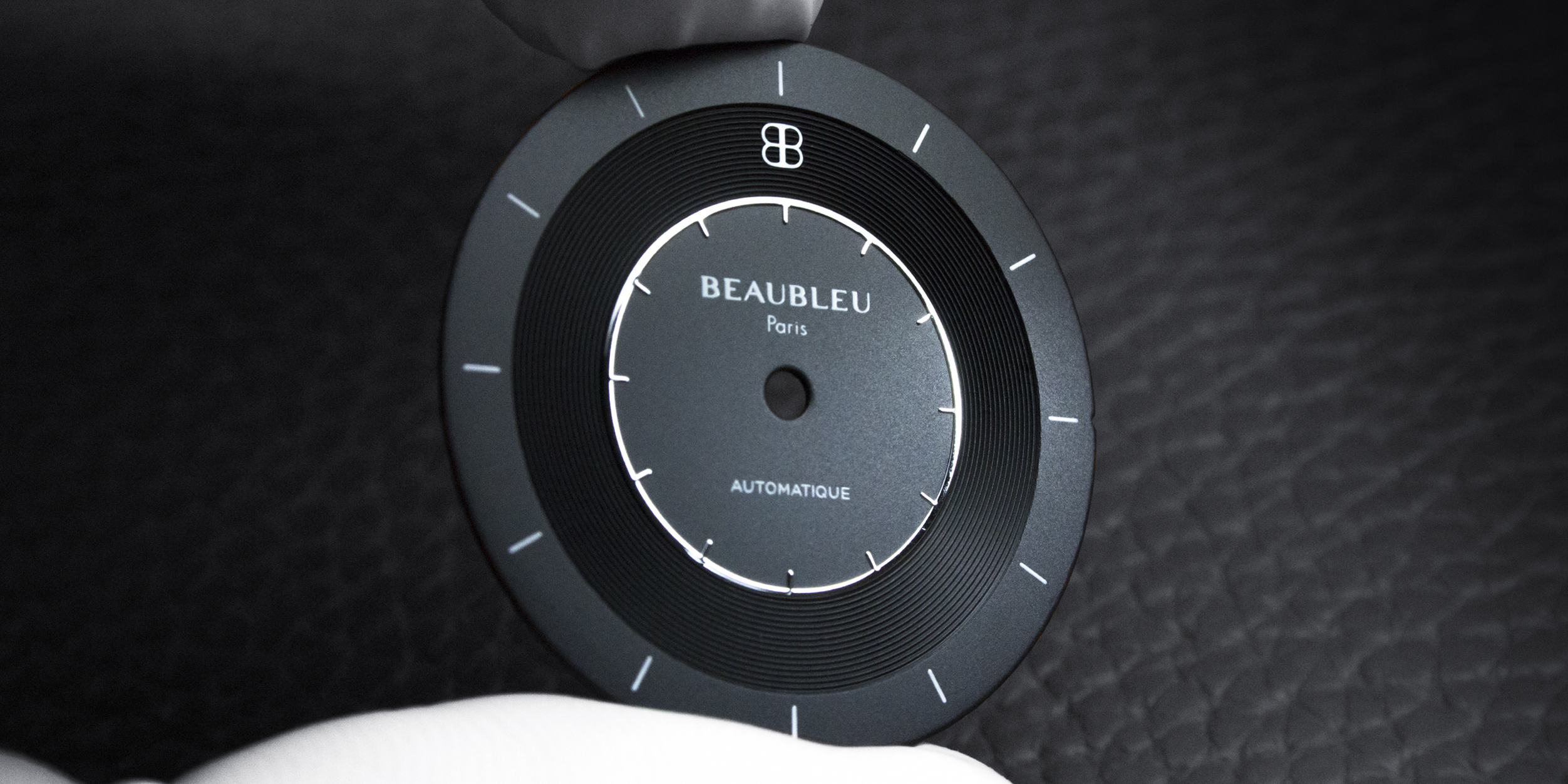 Cadran de montre Beaubleu Paris