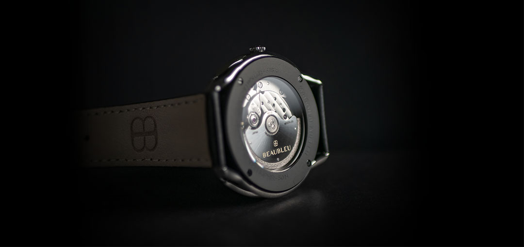 Back of the Dynamique Beaubleu Watch