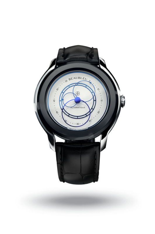 Beaubleu Union collection circular hands automatic watch Alabaster White Intrepide