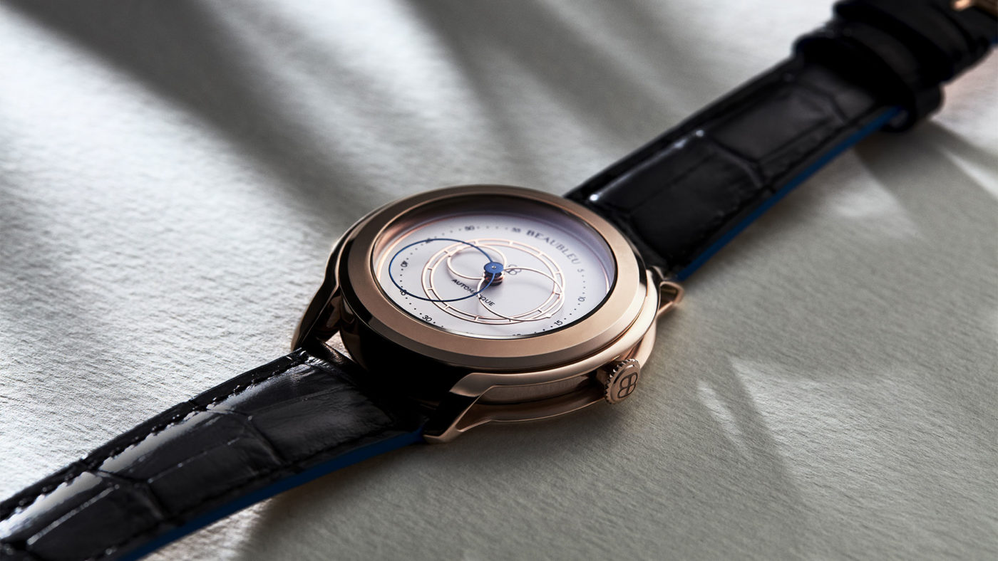 Beaubleu Union collection circular hands automatic watch Olympe