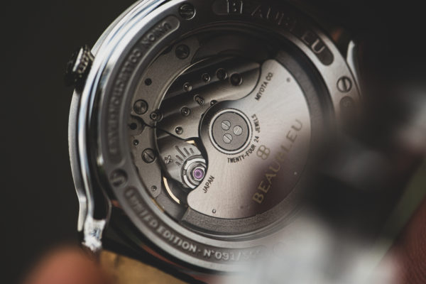 automatic movement miyota 9015 for our round hands watches Beaubleu Paris made in France